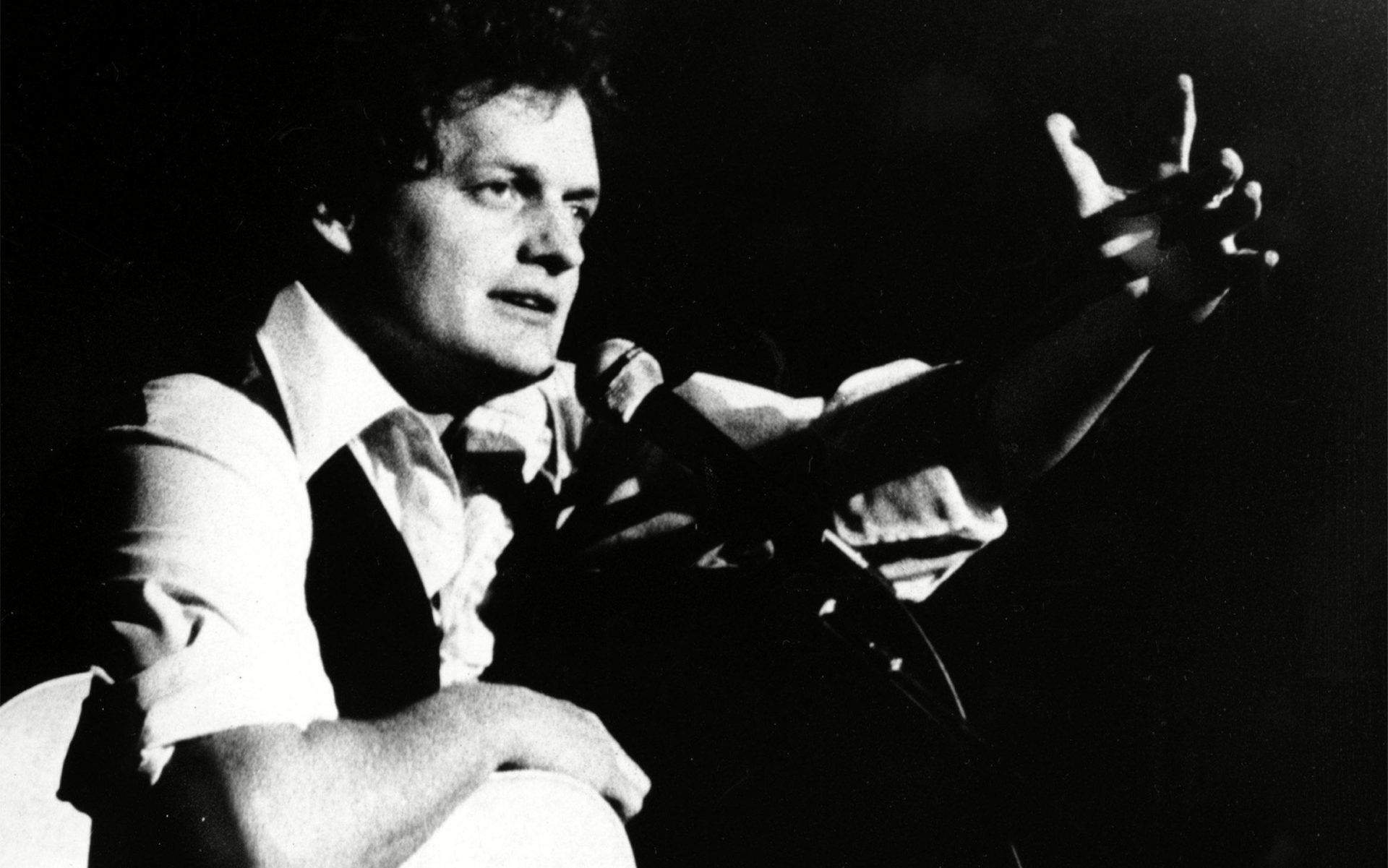 HARRY CHAPIN: WHEN IN DOUBT DO SOMETHING